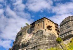 Μοναστήρι του ST Nicholas Anapausas, Meteora, Ελλάδα Στοκ εικόνα με δικαίωμα ελεύθερης χρήσης