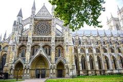 Μοναστήρι του Westminster, η γοτθική εκκλησία αβαείων στο Λονδίνο, Αγγλία, Ηνωμένο Βασίλειο στοκ εικόνες