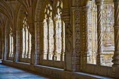 Μοναστήρι των jeronimos Στοκ Φωτογραφία