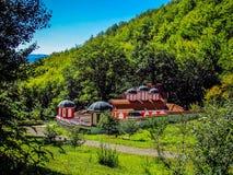 Μοναστήρι υψηλό στα βουνά ST Peter και ST Pavel, Odranica, Βουλγαρία Στοκ Εικόνες