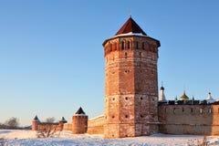 μοναστήρι φρουρίων Στοκ φωτογραφία με δικαίωμα ελεύθερης χρήσης