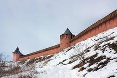 μοναστήρι φρουρίων suzdal Στοκ φωτογραφία με δικαίωμα ελεύθερης χρήσης