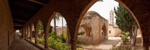 Μοναστήρι Agia Napa στη Κύπρο Στοκ φωτογραφίες με δικαίωμα ελεύθερης χρήσης