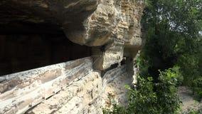 Μοναστήρι Aladzha στα βουνά Βάρνα bulblet 4K φιλμ μικρού μήκους