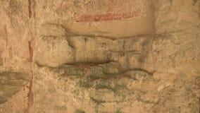 Μοναστήρι Aladzha στα βουνά Βάρνα bulblet 4K απόθεμα βίντεο