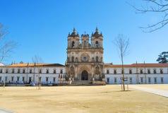 Μοναστήρι Alcobaça, Πορτογαλία Στοκ Φωτογραφίες