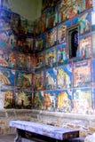 Μοναστήρι Arbore, Μολδαβία, Ρουμανία Στοκ εικόνες με δικαίωμα ελεύθερης χρήσης