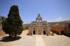 Μοναστήρι Arkadi και ναυπηγείο χωρών, Κρήτη Στοκ εικόνες με δικαίωμα ελεύθερης χρήσης