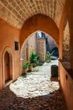 Μοναστήρι Arkadi, Arkadi, Κρήτη, Ελλάδα Στοκ Φωτογραφία