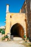 Μοναστήρι Arkadi, Κρήτη, Ελλάδα Στοκ φωτογραφίες με δικαίωμα ελεύθερης χρήσης