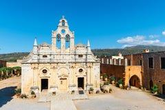 Μοναστήρι Arkadi, Κρήτη, Ελλάδα Στοκ Εικόνα