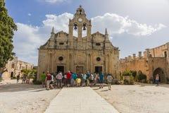 Μοναστήρι Arkadi Κρήτη Στοκ εικόνα με δικαίωμα ελεύθερης χρήσης