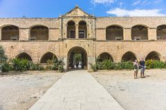 Μοναστήρι Arkadi Κρήτη Στοκ εικόνες με δικαίωμα ελεύθερης χρήσης
