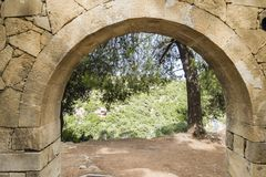 Μοναστήρι Arkadi Κρήτη Στοκ Φωτογραφίες