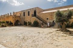 Μοναστήρι Arkadi Κρήτη Στοκ Φωτογραφία