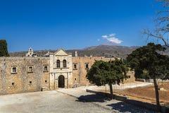 Μοναστήρι Arkadi, Κρήτη Στοκ Εικόνες