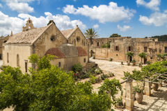 Μοναστήρι Arkadi, Κρήτη Στοκ Φωτογραφίες