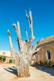 Μοναστήρι Arkadi στην Κρήτη, Ελλάδα Στοκ Εικόνες