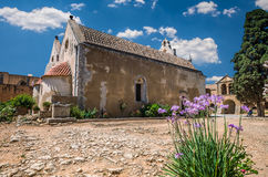 Μοναστήρι Arkadi στο νησί της Κρήτης, Ελλάδα Στοκ φωτογραφία με δικαίωμα ελεύθερης χρήσης