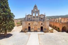 Μοναστήρι arkadi της Κρήτης Στοκ Φωτογραφίες