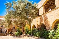 Μοναστήρι Arkadi Στοκ φωτογραφία με δικαίωμα ελεύθερης χρήσης