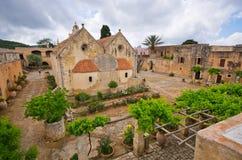 Μοναστήρι Arkadiou Moni - Κρήτη, Ελλάδα Στοκ φωτογραφίες με δικαίωμα ελεύθερης χρήσης