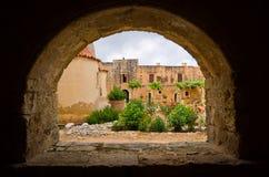 Μοναστήρι Arkadiou Moni - Κρήτη, Ελλάδα Στοκ Εικόνες