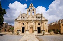 Μοναστήρι Arkadiou Moni - Κρήτη, Ελλάδα Στοκ Φωτογραφίες