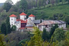 Μοναστήρι Arnota στη Ρουμανία Στοκ Εικόνες