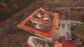 Μοναστήρι Bachkovo, Βουλγαρία απόθεμα βίντεο