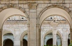 Μοναστήρι Benedictine του αβαείου Monte Cassino Ιταλία Στοκ Εικόνες