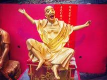 Μοναστήρι Buddhas δέκα χιλιάδων στο Χονγκ Κονγκ Στοκ Εικόνες