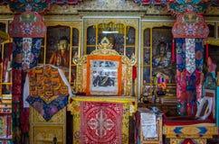 Μοναστήρι Budhist στοκ φωτογραφία