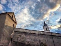 Μοναστήρι Camaldolese σε Wigry στοκ φωτογραφίες με δικαίωμα ελεύθερης χρήσης