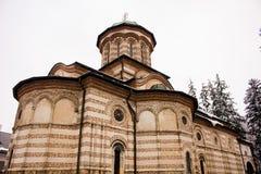 Μοναστήρι Cozia το χειμώνα Στοκ εικόνα με δικαίωμα ελεύθερης χρήσης