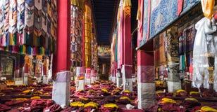 Μοναστήρι Drepung στο μοναστήρι ChinannDrepung στην Κίνα Στοκ Εικόνα