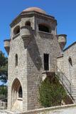 Μοναστήρι Filerimos, Ρόδος στοκ εικόνες