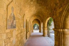 Μοναστήρι Filerimos Στοκ εικόνες με δικαίωμα ελεύθερης χρήσης