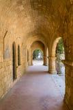 Μοναστήρι Filerimos Στοκ εικόνα με δικαίωμα ελεύθερης χρήσης