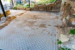 Μοναστήρι friary στην κοιλάδα Messara στην Κρήτη στην Ελλάδα Στοκ Φωτογραφία