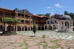 Μοναστήρι Giginski (μοναστήρι Tsarnogorski) στοκ εικόνες