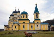Μοναστήρι Hincu, Μολδαβία στοκ φωτογραφία