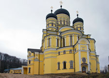 Μοναστήρι Hincu, Μολδαβία στοκ φωτογραφία με δικαίωμα ελεύθερης χρήσης