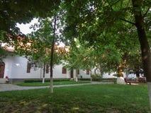 Μοναστήρι hodos-Bodrog - άποψη του προαυλίου Στοκ Εικόνες