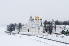Μοναστήρι Ipatiev - Kostroma, Ρωσία στοκ εικόνα