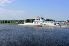 Μοναστήρι Ipatyevsky, Kostroma, Ρωσία Στοκ εικόνες με δικαίωμα ελεύθερης χρήσης