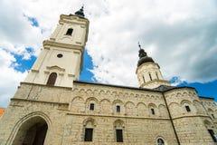 Μοναστήρι Jazak Στοκ φωτογραφία με δικαίωμα ελεύθερης χρήσης