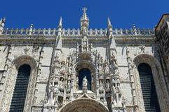 Μοναστήρι Jeronimos, Λισσαβώνα, Πορτογαλία Στοκ εικόνα με δικαίωμα ελεύθερης χρήσης