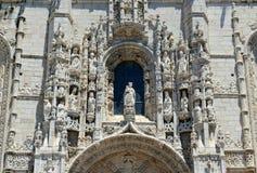 Μοναστήρι Jeronimos, Λισσαβώνα, Πορτογαλία Στοκ Φωτογραφία