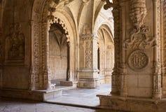 Μοναστήρι Jeronimos στη Λισσαβώνα, Πορτογαλία στοκ εικόνες